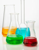 Het glas van het laboratorium Royalty-vrije Stock Afbeeldingen