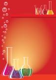 Het glas van het laboratorium Royalty-vrije Illustratie