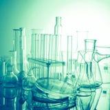 Het glas van het laboratorium Stock Fotografie