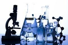 Het glas van het laboratorium Stock Afbeelding