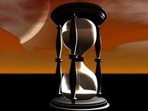 Het Glas van het uur stock illustratie