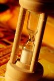 Het glas van het uur Stock Foto's