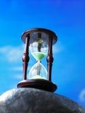 Het glas van het uur Royalty-vrije Stock Afbeelding