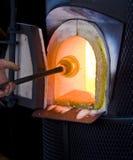 Het Glas van het vuren Stock Afbeeldingen