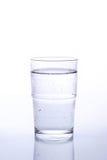 Het glas van het water stock afbeelding