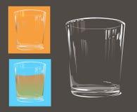 Het glas van het water Stock Foto