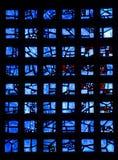 Het glas van Kaiserwilhelm memorial Royalty-vrije Stock Foto's