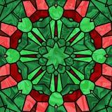 Het Glas van Kerstmis Stock Illustratie