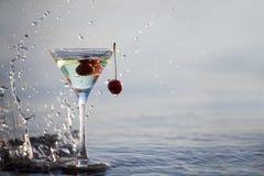 Het glas van martini royalty-vrije stock afbeeldingen