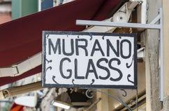 Het glas van Murano stock afbeelding