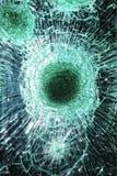 Het glas van Smached Stock Afbeeldingen