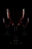 Het glas van Trois Royalty-vrije Stock Afbeelding