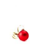 Het glasbal van Kerstmis Royalty-vrije Stock Afbeelding