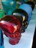Het glashoofden van de ledenpoppenpop stock afbeelding