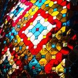 Het glasmozaïek van de kleur Royalty-vrije Stock Foto
