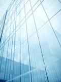 Het glasmuren van de wolkenkrabber Stock Afbeelding