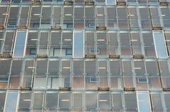 Het glaspatroon van vensters Stock Foto's