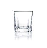Het glasreeks van Coctail. wiskey glas op wit Royalty-vrije Stock Foto's