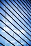 Het glasvensters van de wolkenkrabber Stock Fotografie