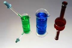 Het Glaswerk van de chemie Royalty-vrije Stock Afbeelding