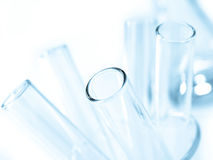 Het glaswerk van het laboratorium Royalty-vrije Stock Fotografie