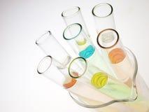 Het glaswerk van het laboratorium Royalty-vrije Stock Afbeeldingen