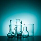 Het Glaswerk van het laboratorium Royalty-vrije Stock Foto's