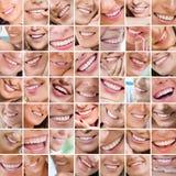 Het glimlachen stock foto's