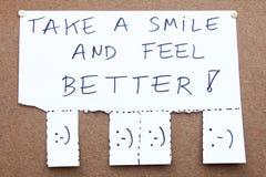 Het glimlachen stock afbeeldingen
