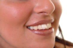 Het glimlachen Stock Foto