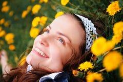 Het glimlachen Gerl Royalty-vrije Stock Afbeeldingen