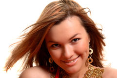 Het glimlachen gezicht Royalty-vrije Stock Foto
