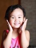 het glimlachen gezicht Royalty-vrije Stock Foto's