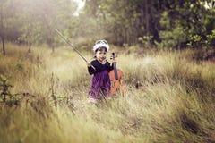 Het glimlachen gezicht van kinderen Royalty-vrije Stock Afbeelding