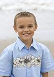 Het glimlachen het Portret van de Jongen stock foto's