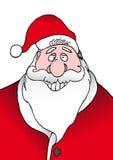 Het glimlachen Kerstman Stock Fotografie