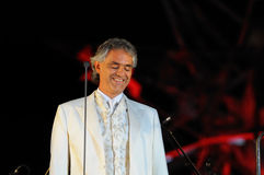 Andrea Bocelli Royalty-vrije Stock Foto's