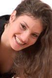 Het glimlachen schoonheid Stock Afbeelding