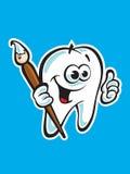 Het glimlachen toothe Stock Afbeelding