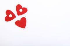 Het glimlachen Valentijnskaartendag Stock Foto