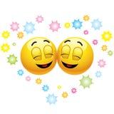 Het glimlachen van ballen vector illustratie