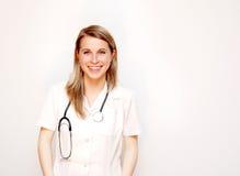 Het glimlachen van de arts Stock Foto