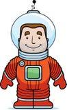 Het Glimlachen van de astronaut Stock Afbeeldingen