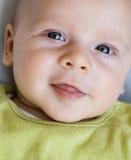 Het glimlachen van de baby Royalty-vrije Stock Foto's