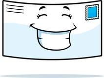 Het Glimlachen van de brief vector illustratie