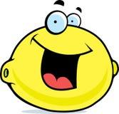 Het Glimlachen van de citroen Royalty-vrije Stock Afbeeldingen