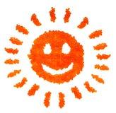 Het glimlachen van de kaviaar zon Royalty-vrije Stock Foto