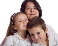 Leuke familie Royalty-vrije Stock Foto's