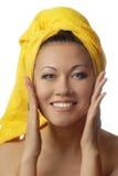 Het glimlachen van de schoonheid Royalty-vrije Stock Afbeeldingen