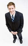 Het glimlachen van de zakenman Royalty-vrije Stock Afbeelding